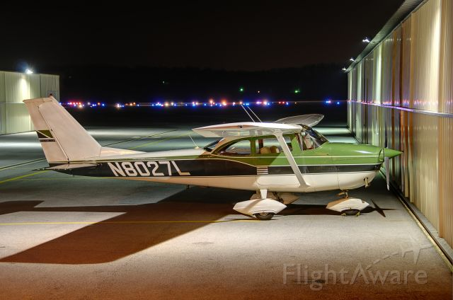 """Cessna Skyhawk (N8027L) - Seen at KFDK on 3/20/2010    <a href=""""http://discussions.flightaware.com/profile.php?mode=viewprofile&u=269247"""">  [ concord977 profile ]</a>"""