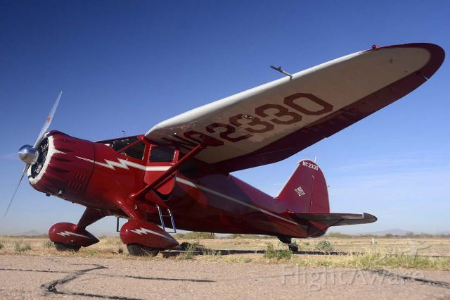 NAC2330 — - Stinson SR-10G Reliant NC2330 was built in 1938. Its construction number is 3-5838. I