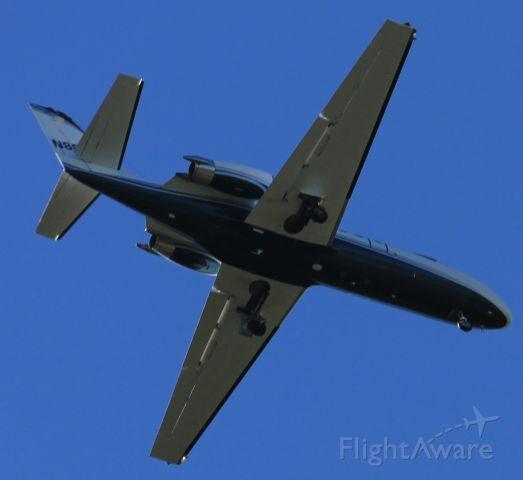 Cessna Citation II (PHJ82) - RWY 36 2 Mile Final Joplin, MO.