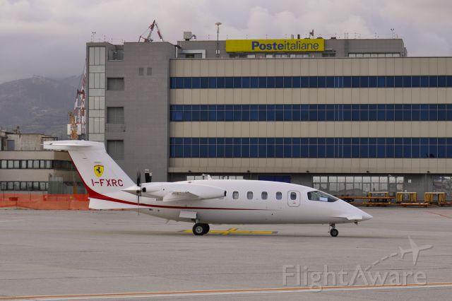 Piaggio P.180 Avanti (I-FXRC) - Foxair/Ferrari Piaggio P-180 Avanti I-FXRC landed at Genova Cristoforo Colombo Airport