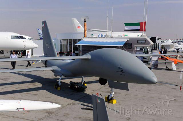 — — - United 40 UAV on display @ OMDB