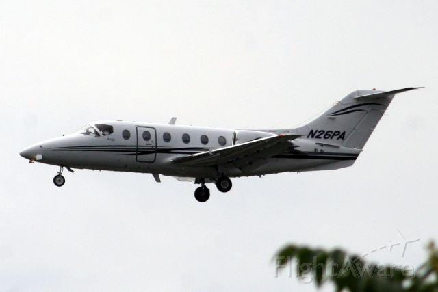 Beechcraft Beechjet (N26PA) - 15-Jun-07