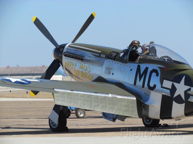 North American P-51 Mustang (N74190) - WBCA Air Show 2011