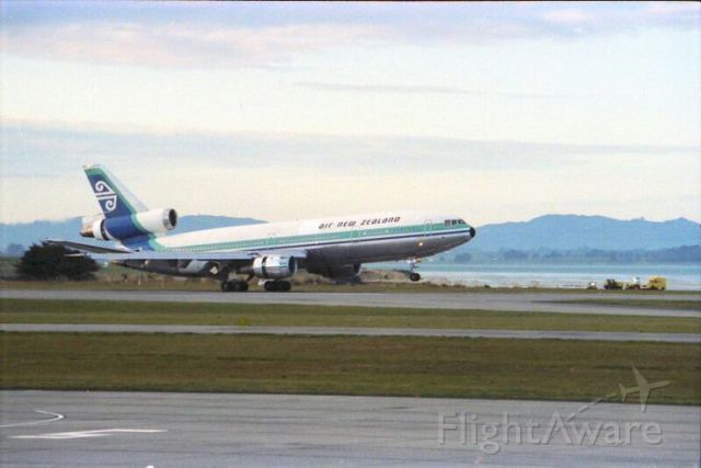 McDonnell Douglas DC-10 (ZK-NZP) - memories ZK-NZP DC10-30 touches down gracefully from a thirteen hour flight from KLAX 22/11/1978 sadly it perished on 28 November 1979 on a sight seeing flight to the Antarctica