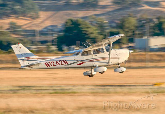 Cessna Skyhawk (N1242N) - Cessna 172S at Livermore Municipal Airport (CA). June 2021.