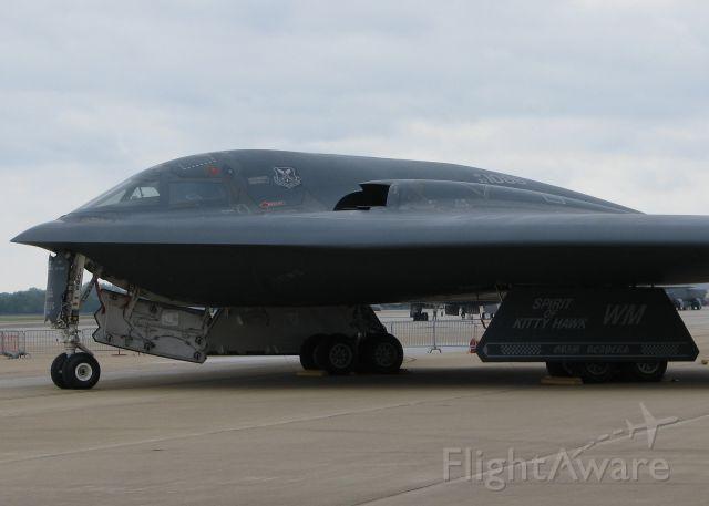 "Northrop Spirit (93-1086) - At Barksdale Air Force Base.  The ""Spirit of Kitty Hawk""."