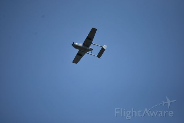Cessna Super Skymaster (N202A) - Flyover of N202A at EAA Airventure 2019