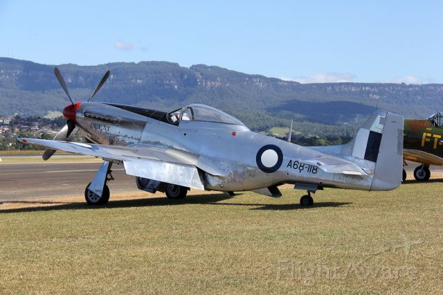 VH-AGJ — - CAC CA-18 Mk.21 Mustang<br />Manufactured in 1948, Australia<br />Photo: 05.05.2013