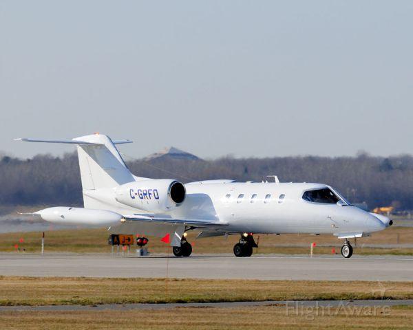 Learjet 35 (C-GRFO)