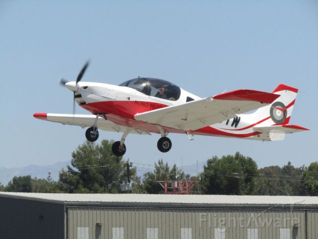 Aircraft Factory Sling 2 (N169TW) - Taking off RWY 24
