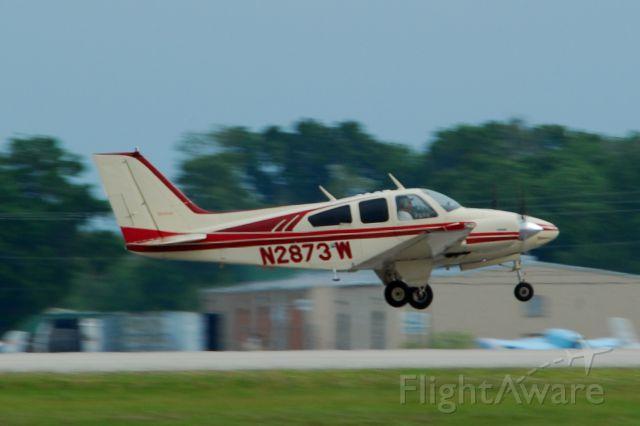 Beechcraft 55 Baron (N2873W) - 2013 Sun n Fun Parade of Planes