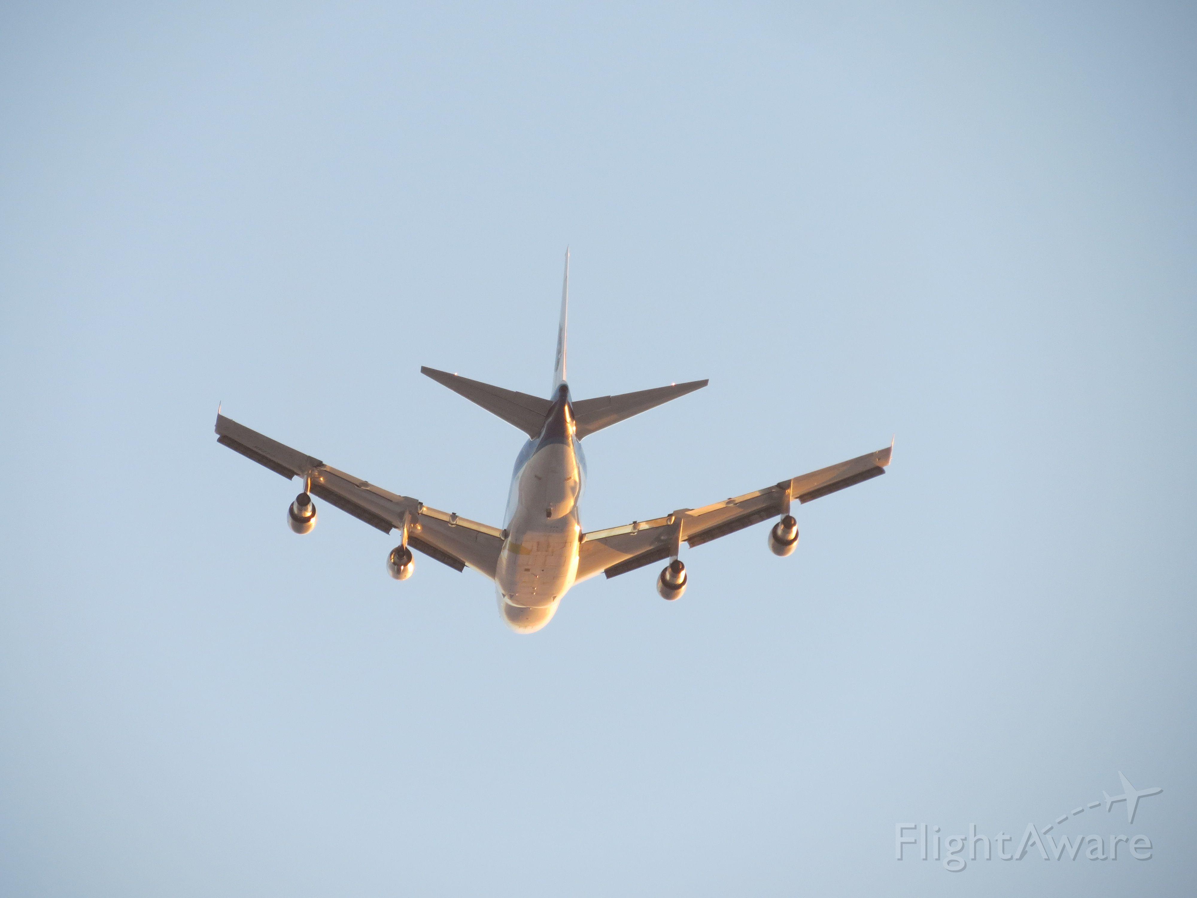 BOEING 747SP (C-FPAW) - Pratt & Whitney Canada New engine Test flight