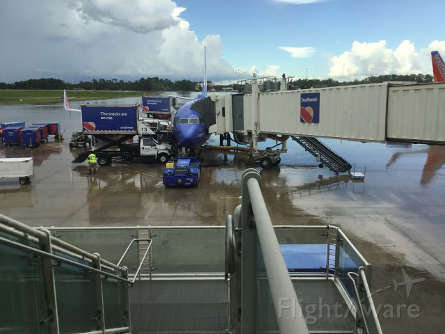 Boeing 737-700 (N238WN) - About to board 4501 mco-atl