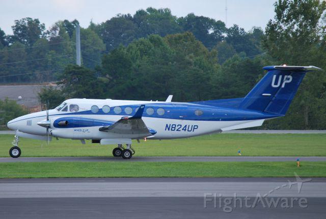 Beechcraft Super King Air 350 (N824UP) - WHEELS UP PARTNERS LLC at JQF - 9/18/14