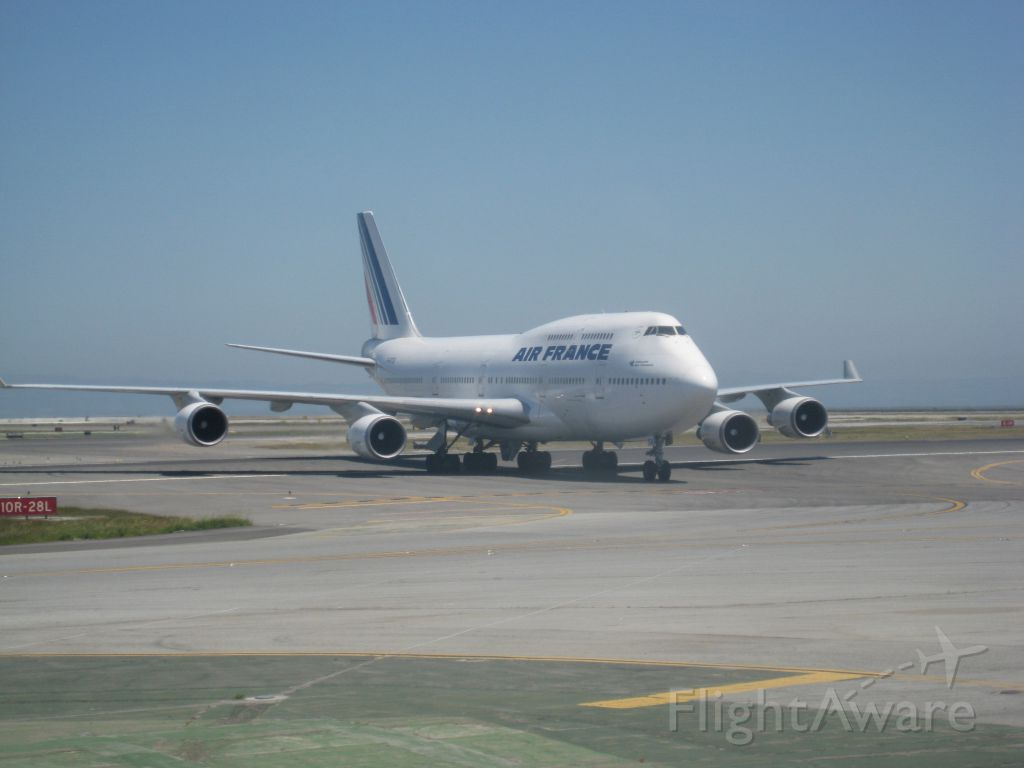 Boeing 747-400 — - Now a A-380 on this route