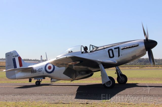 VH-AUB — - CAC CA-18 Mk. 21 Mustang<br />manufactured in 1947, Australia<br />Photo: 17.02.2019