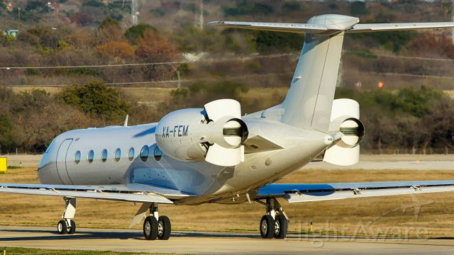 Gulfstream Aerospace Gulfstream V (XA-FEM) - T/Rs open on the downhill part of November on the way to 22.