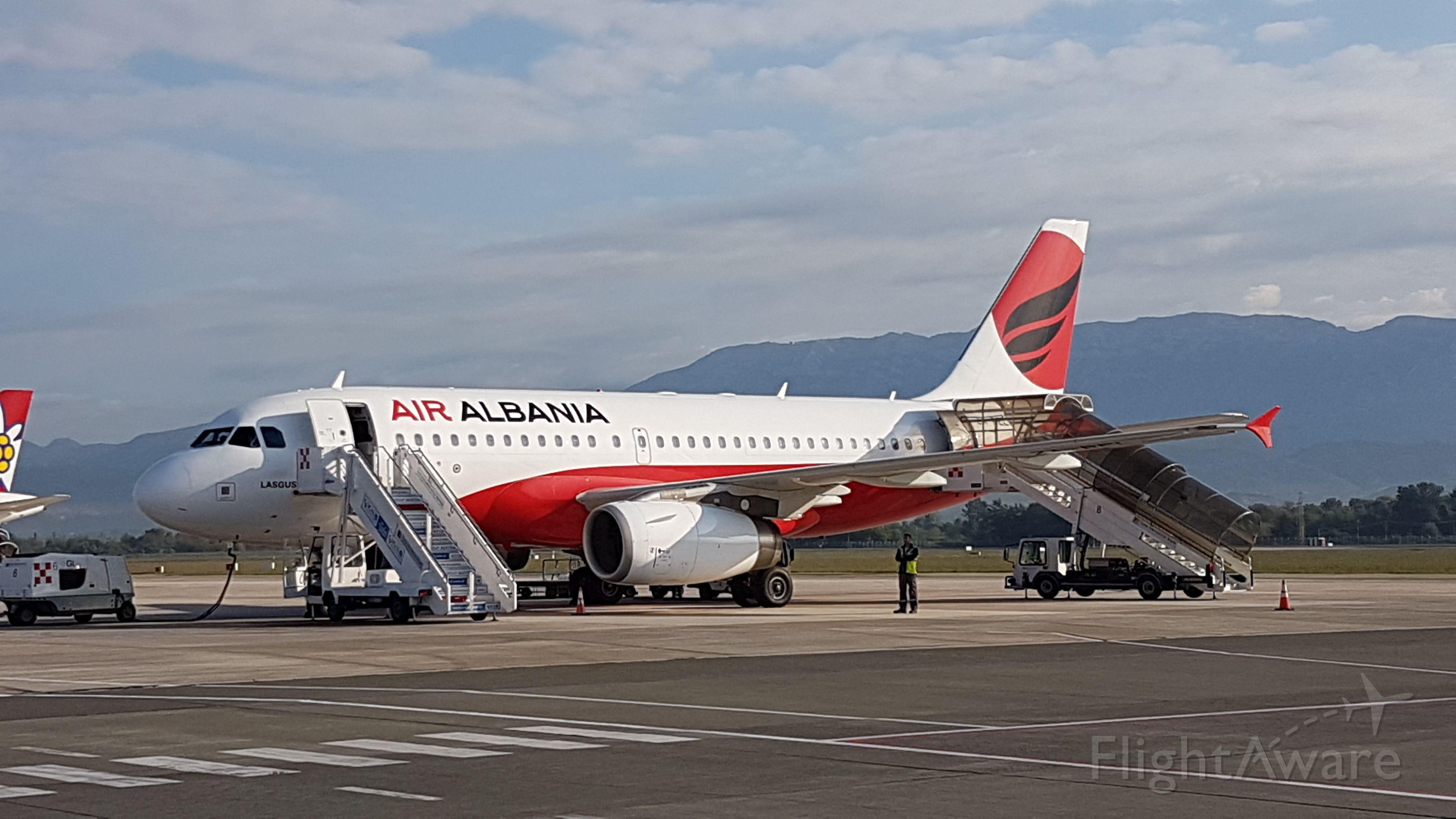 Airbus A319 (ZA-BEL)
