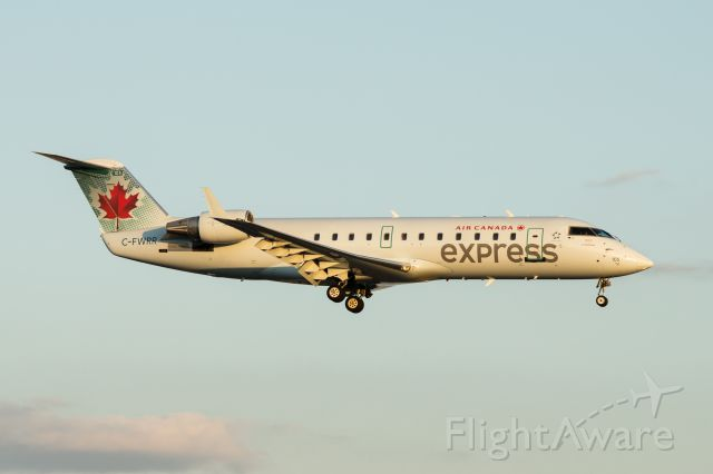 Canadair Regional Jet CRJ-100 (C-FWRR) - On approach to runway 23R at Pearson Intl. Airport