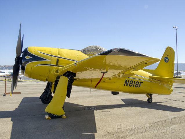 N818F — - Grumman F8F at Livermore Municipal Airport, 06/2019 AOPA Flyin
