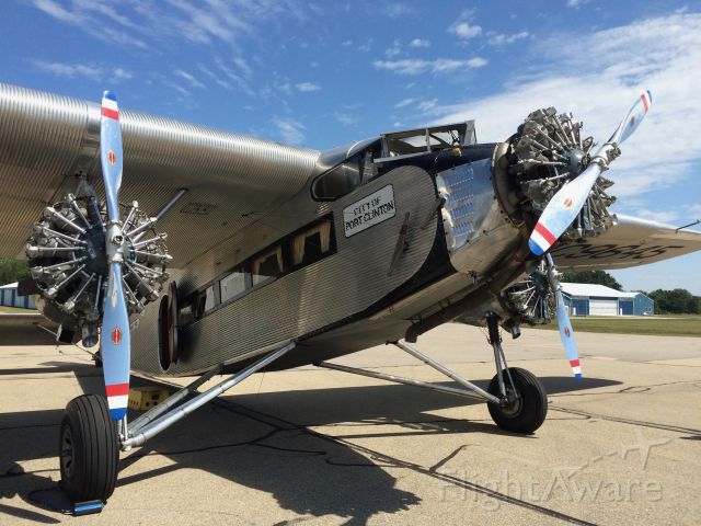 NC9645 — - Ford Trimotor