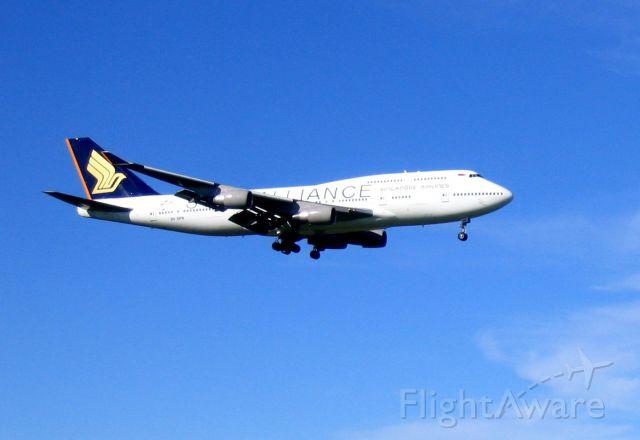 Boeing 747-400 (9V-SPR)