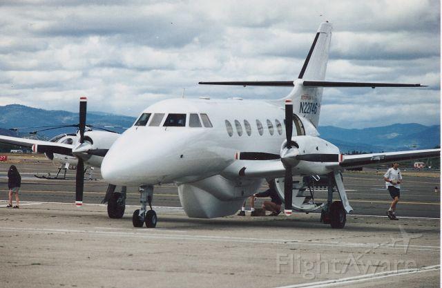 — — - N22746 Private Test BAE-J31