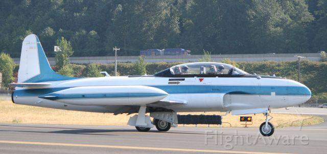 Lockheed T-33 Shooting Star (N416X)