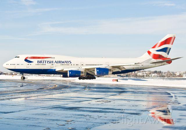 Boeing 747-400 (G-BYGE) - Great Britain Flag Carrier - British Airways as The Speedbird !