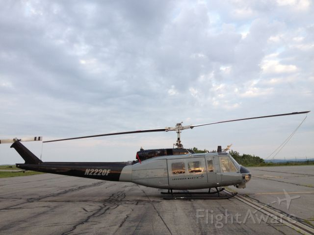 N2220F — - On the ramp at KBGM: 1963 BELL UH-1H