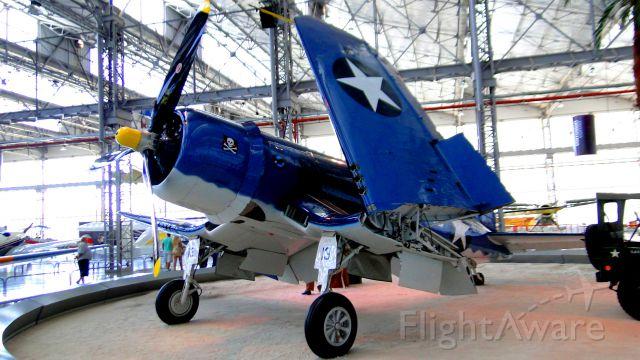 WAR Vought F4U Corsair — - Vought F$U-1 Corsair in São Carlos-SP, Brazil.
