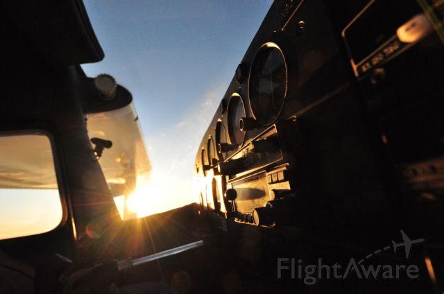 Cessna 175 Skylark (N9379B) - Enroute to FWS during sunset. Win this plane: http://www.1940airterminal.org/TheHangar/RafflePlane/N9379B/