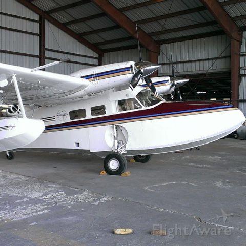 Grumman G-44 Widgeon (N135MG) - Grumman G44 @FLYBVI HANGER