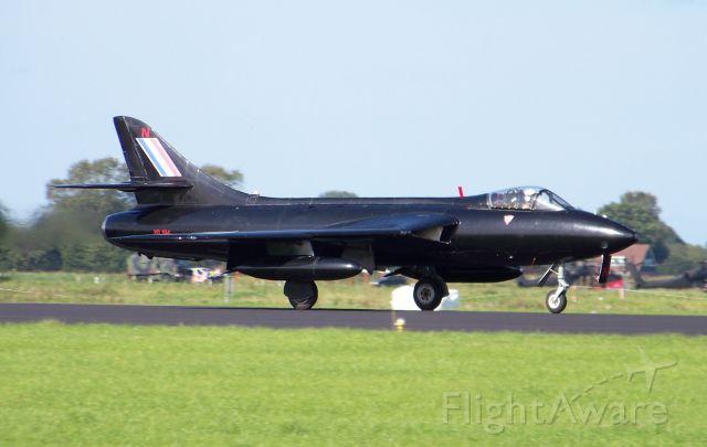 Hawker Hunter (SXD194) - A 1956 Hunter FGA.9 at Volkel Air Base, Netherlands in September 2011.