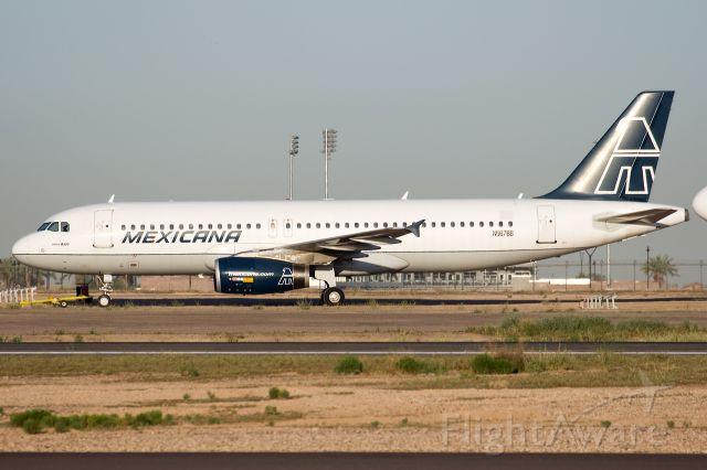 Airbus A320 (N567BB) - Freshly stored in the desert