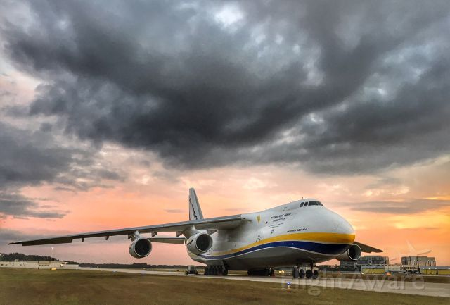 Antonov An-124 Ruslan (UR-82073) - Always a welcome visitor to TPA!