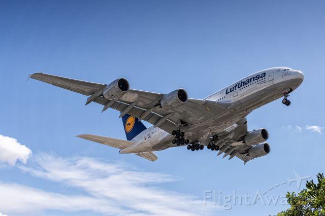 Airbus A380-800 (D-AIMC) - Landing at KLAX on April 7, 2015