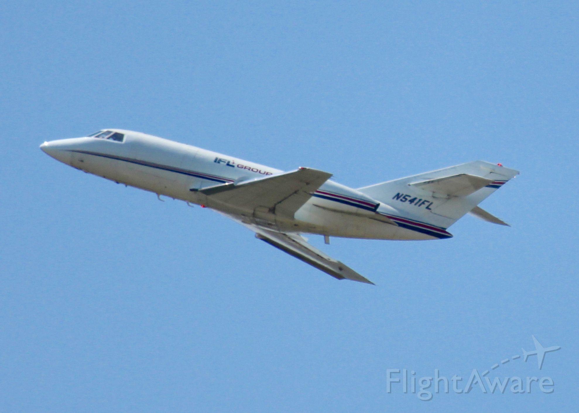 Dassault Falcon 20 (N541FL) - At Shreveport Regional.