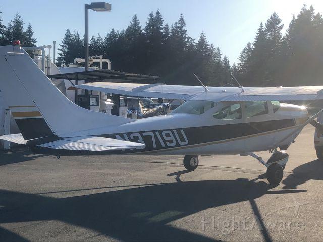 Cessna Skylane (N3719U) - Taken at the fuel pumps on August 28, 2020