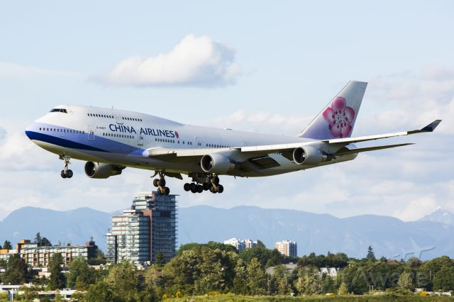 Boeing 747-400 (B-18207) - Not many 747 flies to Vancouver these days especially after BA made a switch to A380