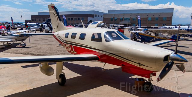 Piper Malibu Mirage (N413LL) - US Aircraft Expo @ KAPA 7/13/18