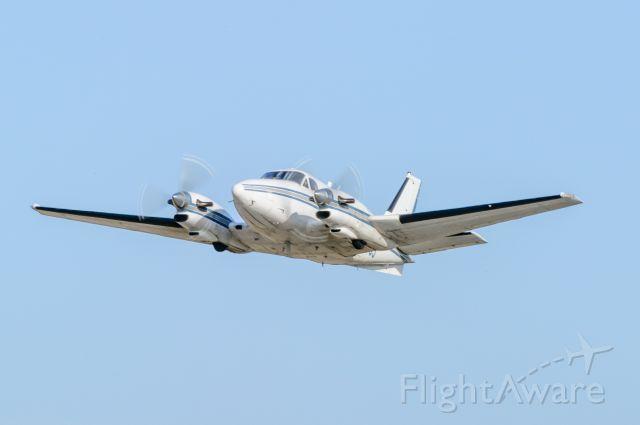 Beechcraft King Air 90 (N567GJ) - TakeOff from 05C