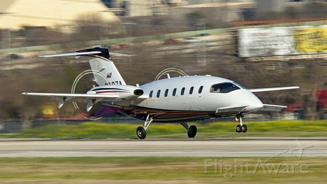 Piaggio P.180 Avanti (N327A) - 22 arrival.