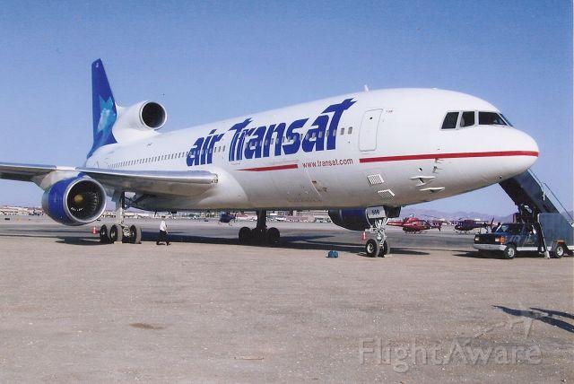 Lockheed L-1011 TriStar — - Last flight for Air Transat L1011s at LAS. Summer 2004?