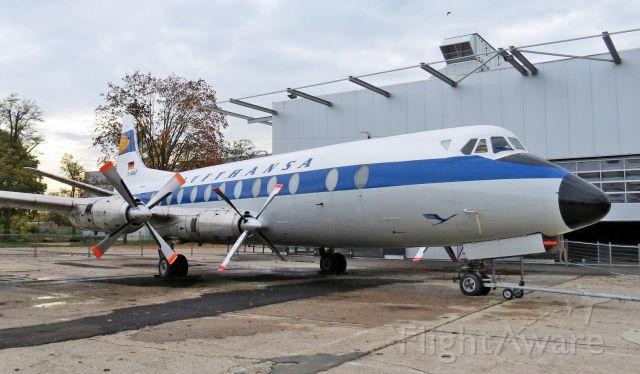 D-ANAF — - Vickers Viscount 814