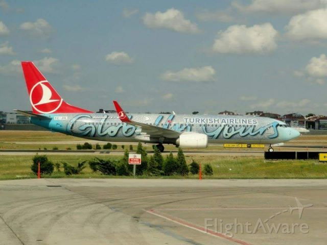 Boeing 737-800 (TC-JHL) - Ünye