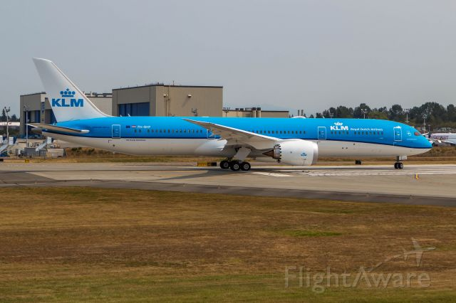 Boeing 787-8 (PH-BHP) - Ready Set Go !!! Here this 787 lines up to do a test run of its breaking systems down the runway