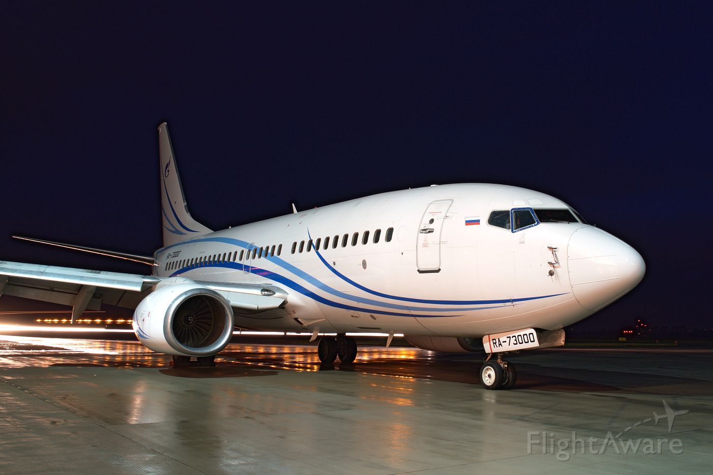 Boeing 737-700 (RA-73000) - Gazpromavia, December 17th, 2012