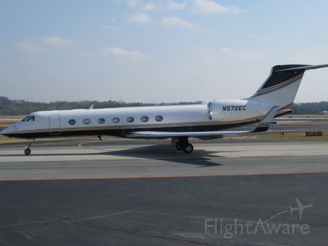 Gulfstream Aerospace Gulfstream V (N572EC)