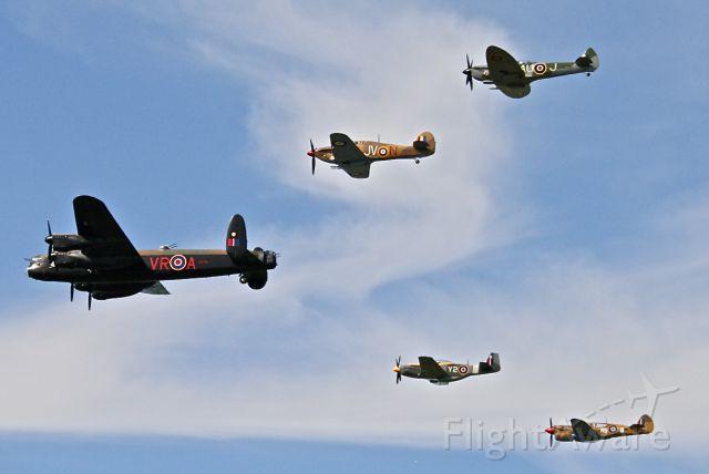 Avro 683 Lancaster (C-GVRA) - AVRO LANCASTER, HAWKER HURRICANE, SUPERMARINE SPITFIRE, NORTH AMERICAN MUSTANG, CURTISS KITTYHAWK @ VINTAGE WINGS OF CANADA